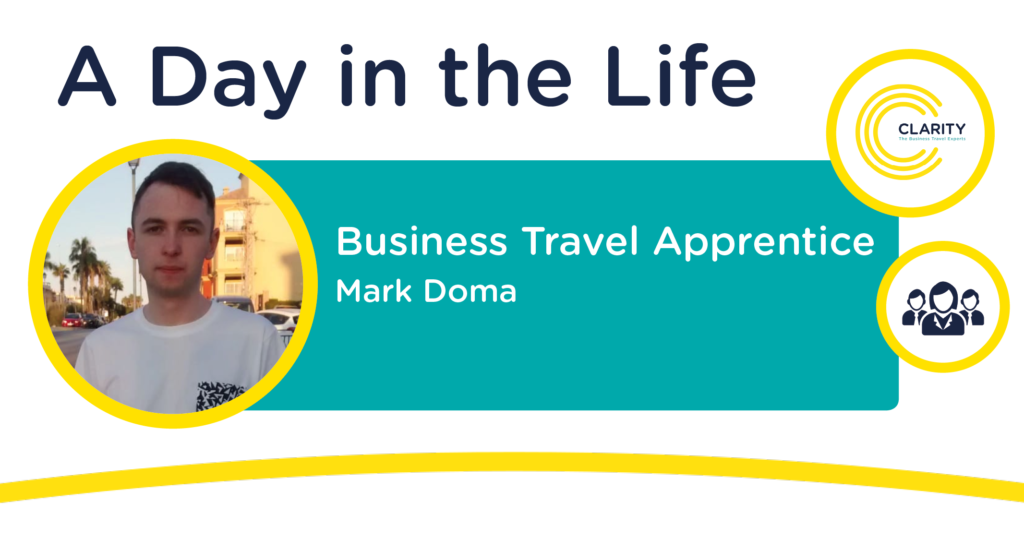 A Day in the Life of an Apprentice - Business Travel Consultant, Mark Doma
